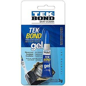 Cola Super TekBond Gel 3g Caixa com 24 Unidades