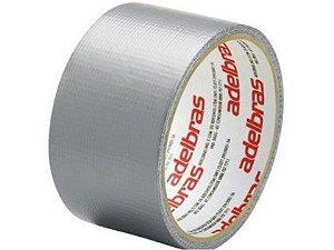 Fita Adesiva Silver Tape Adelbras 48mm x 10m