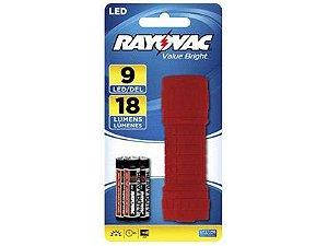 Lanterna Rayovac 09 LEDs Caixa com 06 Unidades