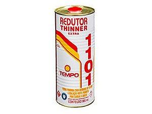 Redutor Thinner Tempo Extra para Pintura 1101 900ml Caixa com 06 Unidades
