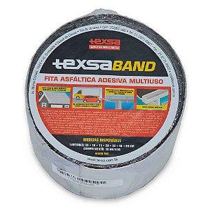 Fita Impermeabilizante Texsaband Alumínio 10cm Rolo 10 Metros