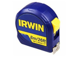 """Trena De Aço Irwin 08m x 25mm 1"""""""