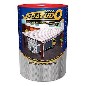 Fita Impermeabilizante VedaTudo Alumínio 30cm Rolo 10 Metros