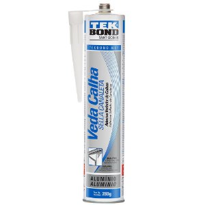 Adesivo Veda Calha Tek Bond 280g 300ml Alumínio