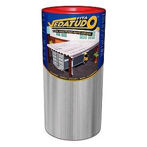 Fita Impermeabilizante VedaTudo Alumínio 90cm Rolo 10 Metros