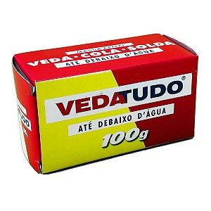 Cola Epóxi Vedatudo Até Debaixo D'água 100g  Kit com 06 Unidades