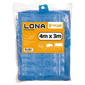 Lona de Polietileno Tocha 04 x 03m Azul