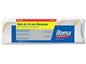 Rolo de Lã Roma 23cm Anti-Respingo 822-23