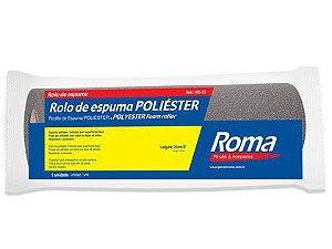 Rolo de Espuma Poliéster Roma 23cm Cinza 430-23