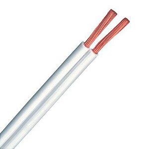 Fio Cordão Paralelo Fcondutores Branco 2 X 4,00mm 300V NBR 13249 Rolo 100 Metros