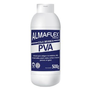Cola Adesiva Branca PVA Almaflex 813 500g