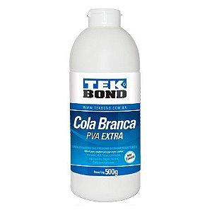 Cola Adesiva Branca PVA Extra Tek Bond Extra 500g