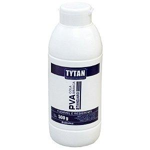 Cola Adesiva Branca PVA Tytan Standard 500g