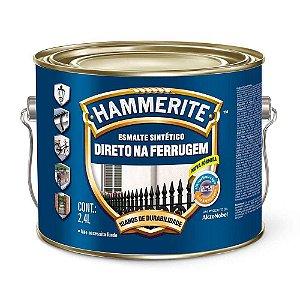 Esmalte Sintético Hammerite Direto na Ferrugem Branco Galão 2,4 Litros