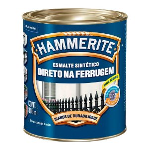 Esmalte Sintético Hammerite Direto na Ferrugem Marrom 800ml
