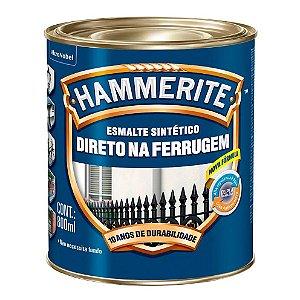 Esmalte Sintético Hammerite Direto na Ferrugem Prata 800ml