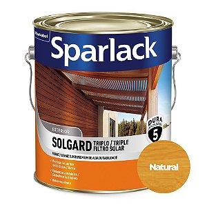 Verniz Sparlack Triplo Filtro Solar Solgard Acetinado Natural Incolor Galão 3,6 Litros