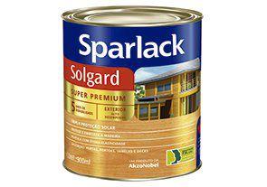 Verniz Sparlack Solgard Acetinado Natural 900ml com 06 Unidades
