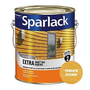 Verniz Sparlack Extra Marítimo Brilhante Natural Incolor Base Solvente Galão 3,6 Litros