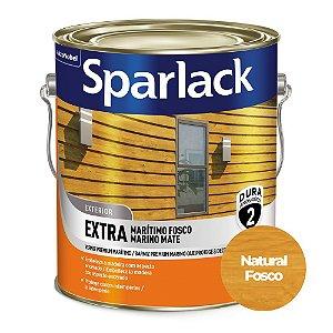 Verniz Sparlack Extra Marítimo Acetinado Base Solvente Galão 3,6 Litros