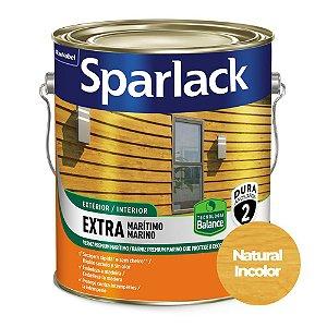 Verniz Sparlack Extra Marítimo Balance a Base D'Água Acetinado Natural Incolor Galão 3,6 Litros