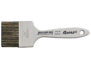 """Pincel Profissional Roma 2 1/2"""" 312/6 Embalagem com 12 Unidades"""