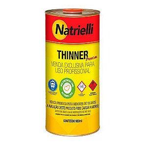 Redutor Thinner Natrielli para Pintura 8100 900ml Caixa com 12 Unidades