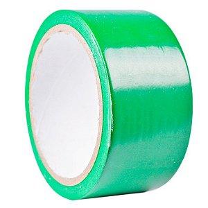 Fita Adesiva Koretech para Embalagem 45mm x 40m Verde Kit com 05 Unidades.