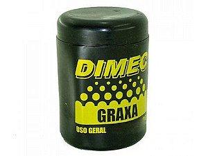 Graxa Dimec Uso Geral Marrom 90g Caixa com 12 Unidades