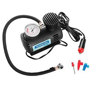Compressor de Ar Portátil Tramontina para Carros 300 psi 50W 12V