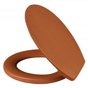 Assento Sanitário Metasul Soft Caramelo