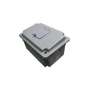 Caixa de Medição Taf Ampla para Disjuntor Trifásico CDJ3 Cinza