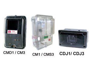 Caixa de Medição Taf Light para Disjuntor Monofásico CDJ1 Preto