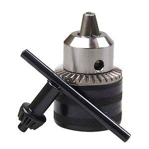 """Mandril Leve MTX  para Furadeira 3/8"""" ou 10mm com Chave"""