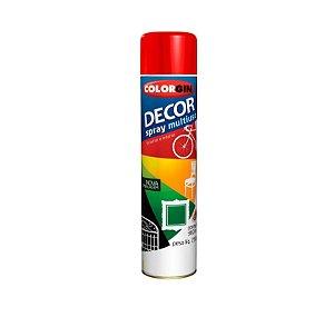 Tinta Spray Colorgin Decor 877 Vermelho