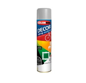 Tinta Spray Colorgin Decor 865 Cinza