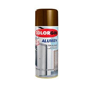 Tinta Spray Colorgin Alumen 772 Bronze Escuro