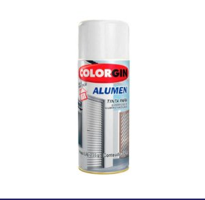 Tinta Spray Colorgin Alúmen 7004 Branco