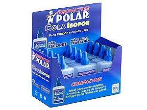Cola Polar Isopor 90g Caixa com 12 Unidades