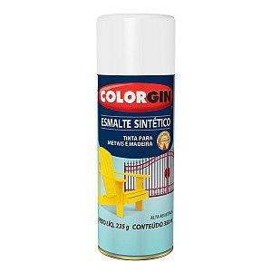 Spray Colorgin Esmalte Sintético 747 Branco Fosco