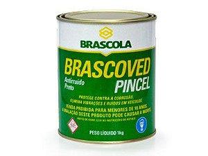 Antirruído Brascoved Preto Pincel 01Kg