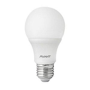 Lâmpada Avant Super LED Pêra 4,8W 6500K Branca Kit com 10 Unidades