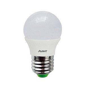 Lâmpada Avant Super LED Bolinha 4W Branca Kit com 10 Unidades
