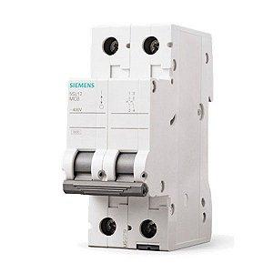 Disjuntor Din Siemens Bipolar 16A C 5SL1