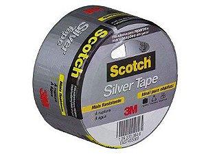 Fita Silver Tape 3M Multiuso Cinza 45 x 5m