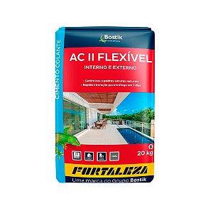 Argamassa Fortaleza Flexível ACII Pacote com 20Kg