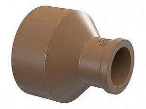 Bucha de Redução Tigre Soldável PVC Longa 50mm x 25mm Embalagem com 12 Unidades