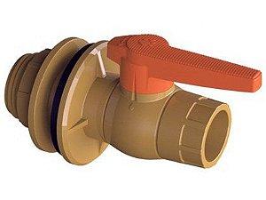 """Adaptador para Caixa D'Água Tigre com Registro 25mm x 3/4"""""""