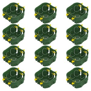 Caixa de Luz Tigre Dryfrix de Embutir 4x4 Embalagem com 12 Unidades