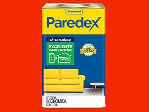Tinta Acrílica Paredex Coral Lata 18L Rubi